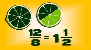 Fraccions, decimals i percentatges