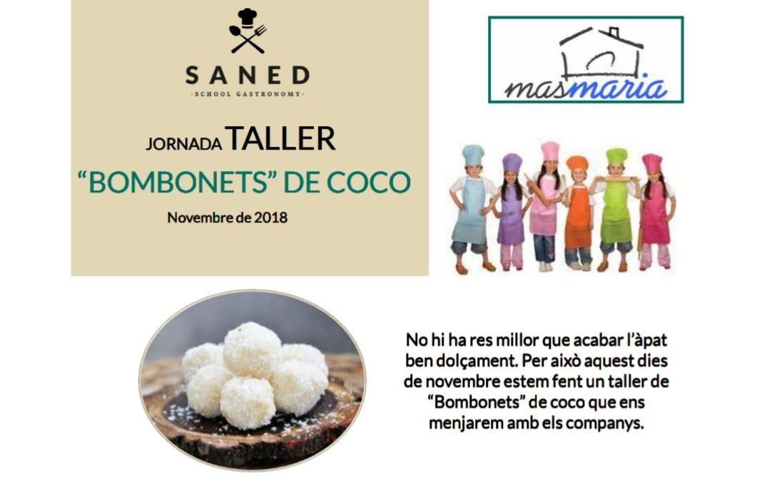 Dimarts 4 desembre: Taller de bombonets de coco
